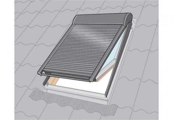 Installazione tapparelle manuali VELUX