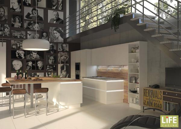 Cucine Open space con Life