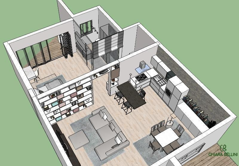 Open space: soluzione progettuale tipo
