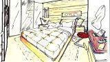 Camera da letto su soppalco: idea progettuale