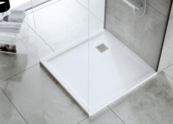 Posizionare il piatto doccia