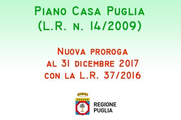 Bollettino ufficiale Regione Puglia: Piano Casa Puglia
