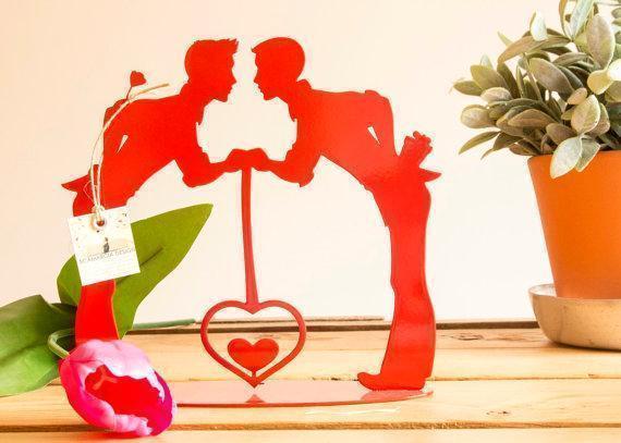 Regalo per san Valentino Cornice #samelove