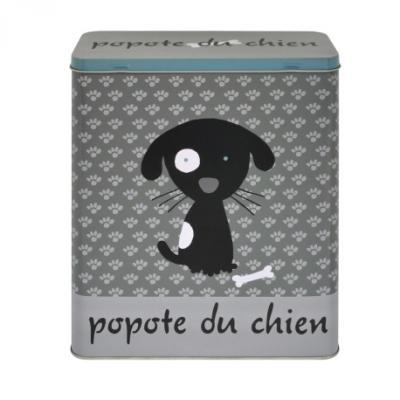 Accessori per cani e gatti: scatola metallica porta sacchetti animali di Derriere la porte