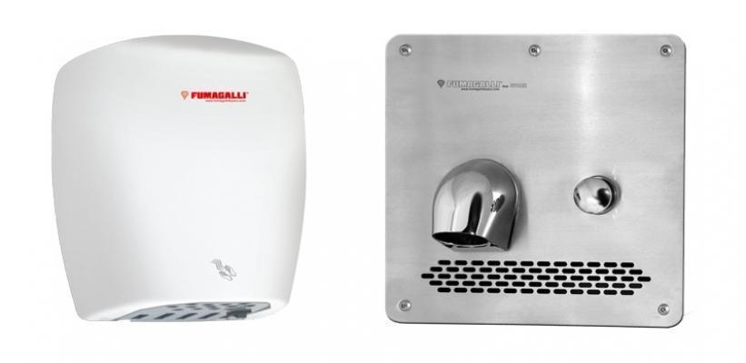 Modelli di asciugamani elettrici Fumagalli Componenti S.p.A.