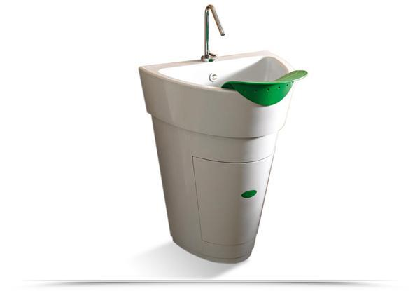 Lavatoio Colavene Pot, by Deghi Srl