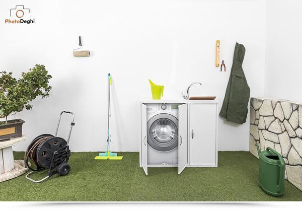 Lavatoi e pilozzi da esterno for Coprilavatrice da esterno