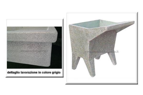 Lavatoio da esterno una vasca 22, by lavandinidaesterno.it
