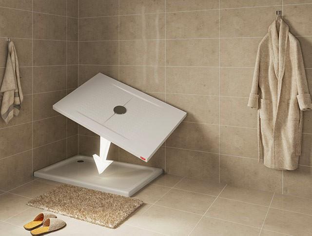 Sovrapposizione vasche da bagno
