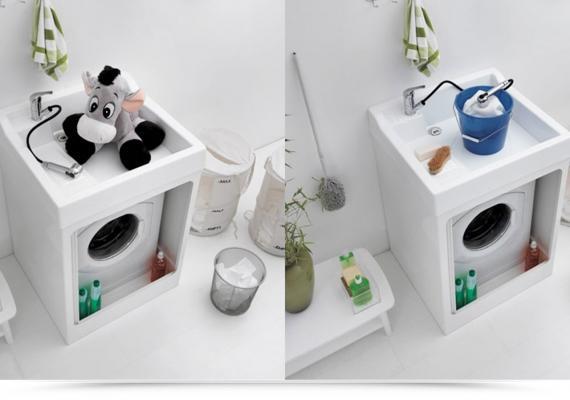 Lavatoi e pilozzi da esterno for Coprilavatrice da interno