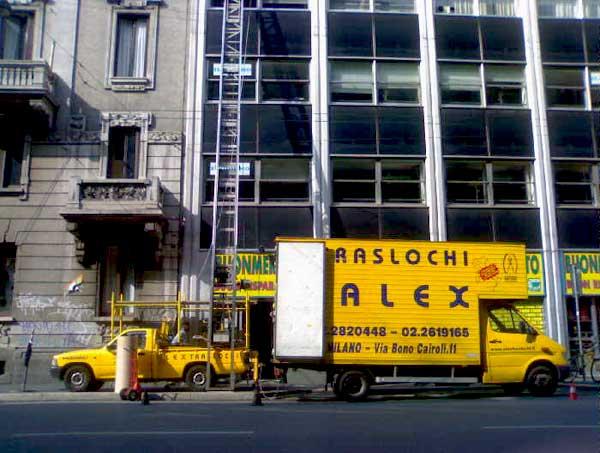 Sicurezza con ALEX TRASLOCHI