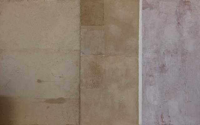 Intonachino decorativo di argilla TerraWabi di Matteo Brioni.