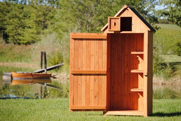 Armadi per esterni for Impregnante per legno esterno prezzi