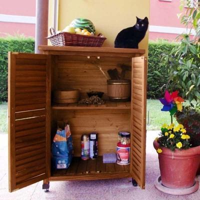 Armadio da esterno in legno ONLYWOOD