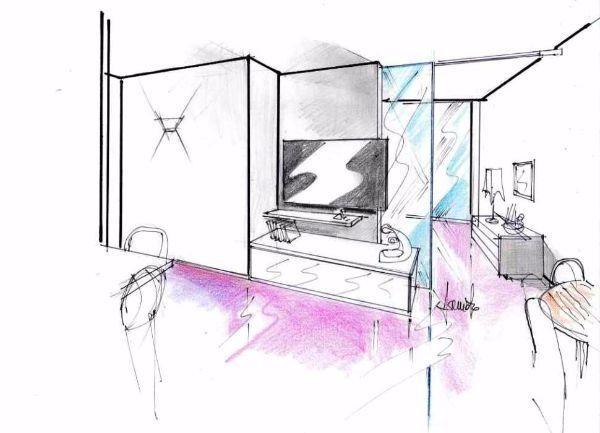 Miniappartamento 29 mq: progettazione dinamica divisione tra gli spazi