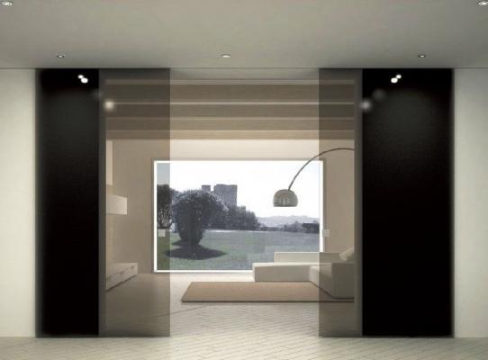 Dividere gli spazi di casa con porte scorrevoli in vetro Cetos