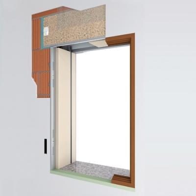 Finestre raso muro modello IN-FINITO- De Faveri