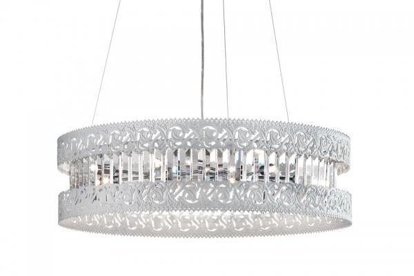 Lampadario cristalli a sospensione Rend di P&V Light