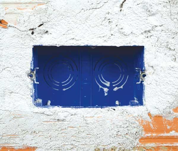 Scatola da incasso AVE per muratura