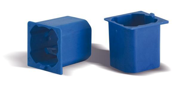 Raccordi per inserire i tubi corrugati nella scatola da incasso AVE