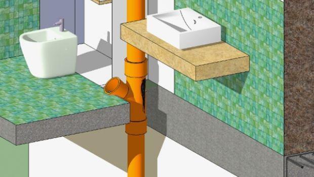 Indicazioni per sostitutire la braga dell'impianto di smaltimento delle acque