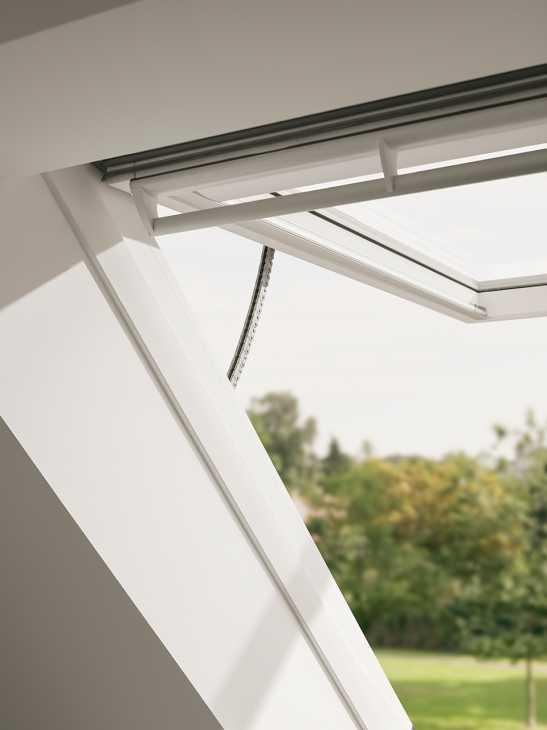 Meccanismo di apertura finestre Integra di Velux