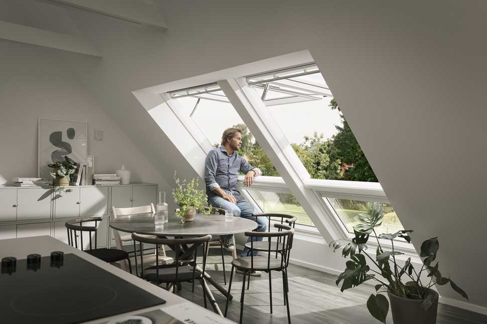 Finestra Integra di Velux