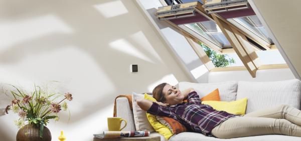 Finestra per tetti Integra di VELUX