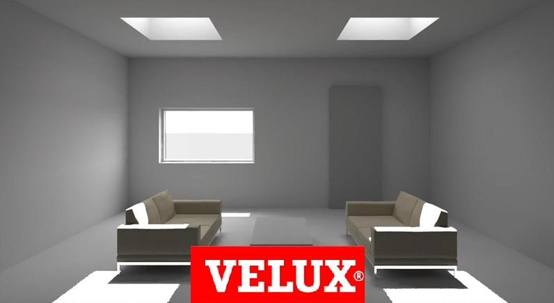 Lucernario for Velux lucernari