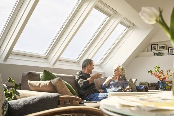 Lucernario for Velux finestre per tetti dimensioni