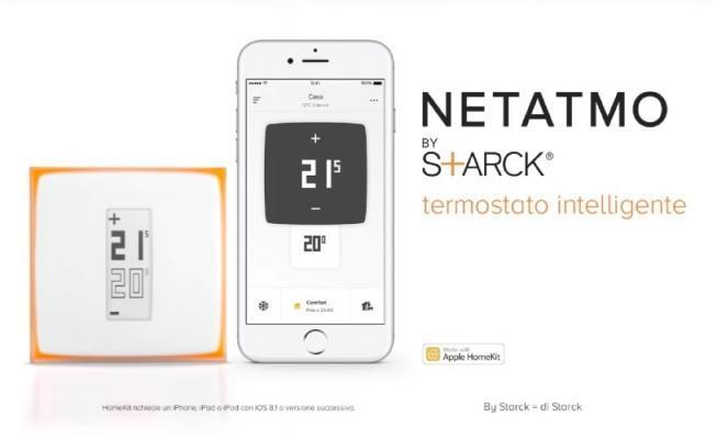 Termostato wireless Netatmo, controllare il riscaldamento e la caldaia con un'App