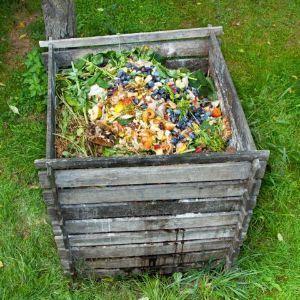 Compostiera per orto o giardino