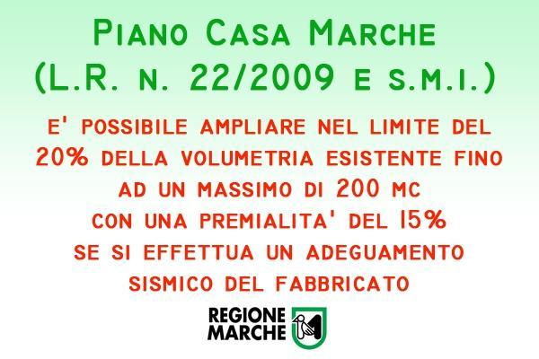Piano Casa Marche