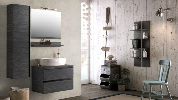 Mobili moderni per il bagno: componibili, sospesi e colorati