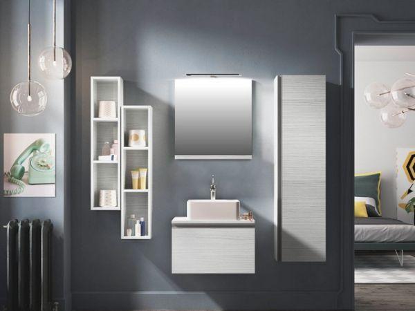 Mobili per il bagno serie Smart di Iperceramica