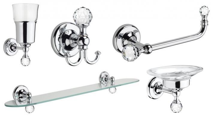 accessori per bagno della collezione madras oriente di ibb