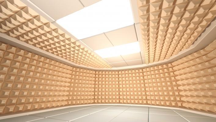 Sala musica in casa trattamento acustico