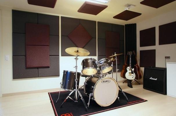Trattamento acustico pareti sala musica di Masacoustics