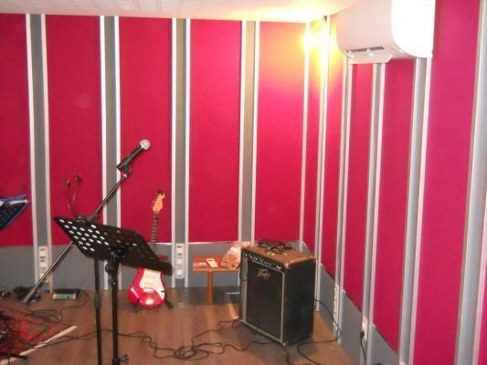 Home studio pannelli modulari acustici di ACUSTICO