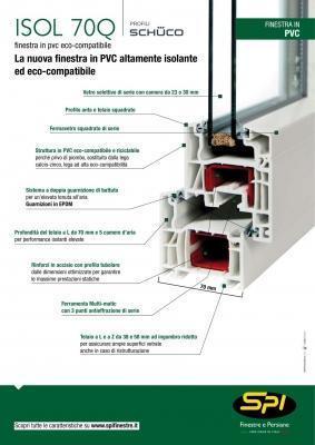 Serramenti in PVC- SPI scheda tecnica
