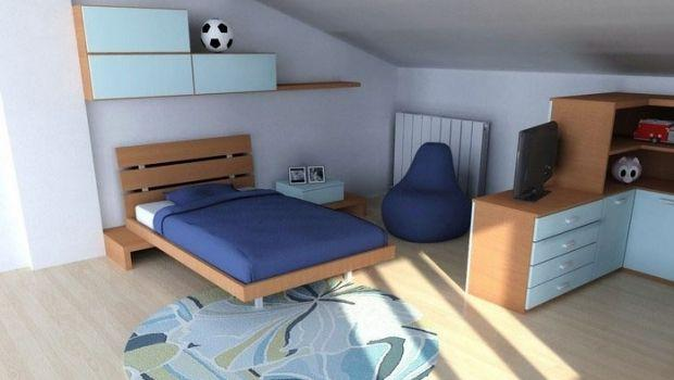 Idee progettuali per camerette in mansarda : come sfruttare in modo funzionale lo spazio