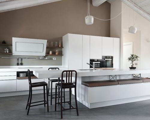 Mansarda open space: Zona cucina by Gardiman