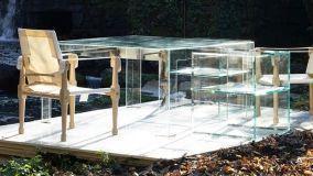 Mobili in vetro, arredare in modo trasparente