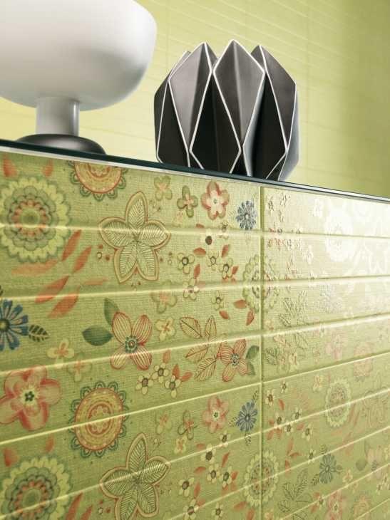 Colori pareti cucina, piastrella Marazzi Folk