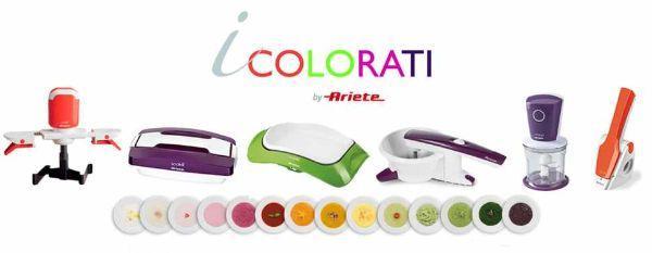 Cucina colorata: piccoli elettrodomestici colorati di Ariete