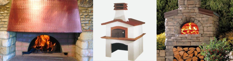 Forno esterno La Refrattaria s.n.c. per forni a legna domestici
