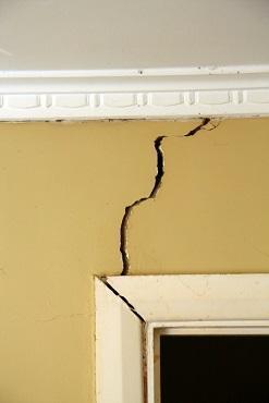 Immobile danneggiato da terremoto