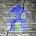 Immobile ad uso abitativo danneggiato da terremoto
