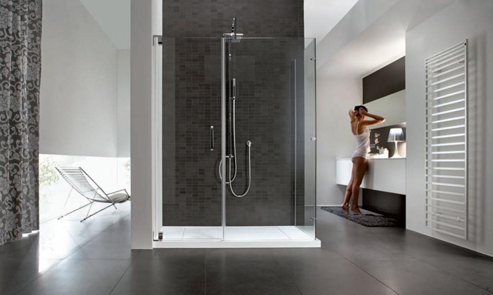 Foto - Bagno con doccia: progetto
