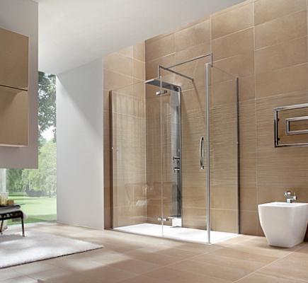 Bagno con doccia progetto for Arredo bagno doccia